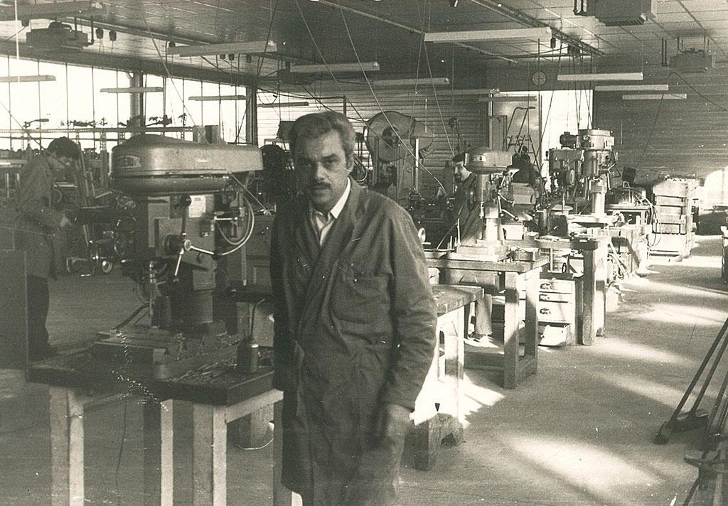 René Lebaut, créateur de la société SOPIL